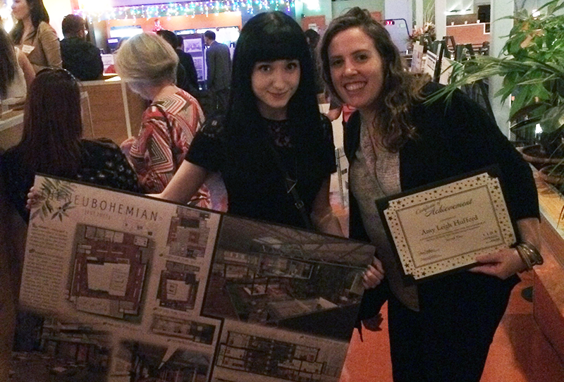 Interior Design Intern Amy Leigh Hufford Wins 2nd Place In 2016
