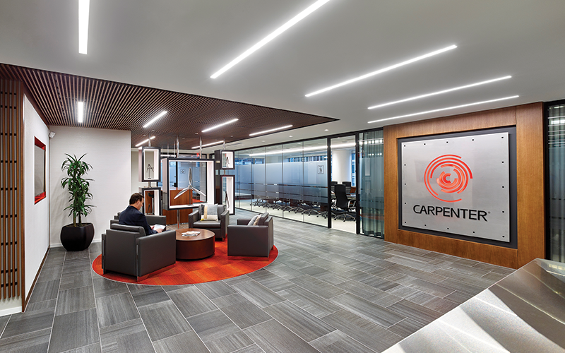 Carpenter Technology A Leading Producer And Distributor Of Premium Specialty Alloys Headquartered In Reading PA Opened An Executive Headquarters